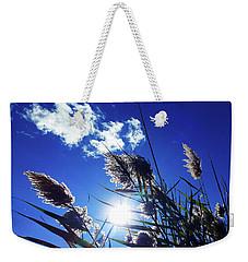 Sunburst Reeds Weekender Tote Bag