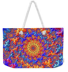 Sunburst Supernova Weekender Tote Bag