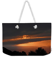 Weekender Tote Bag featuring the photograph Suncloud by Mark Blauhoefer