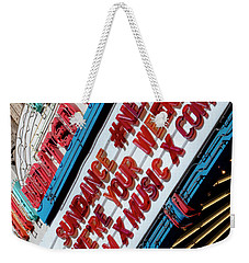Sundance Next Fest Theatre Sign 2 Weekender Tote Bag