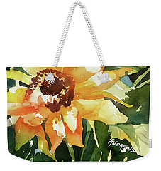 Weekender Tote Bag featuring the painting Sundance by Rae Andrews