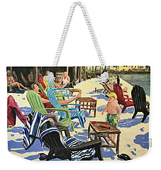 Sunday At The Yacht Club Weekender Tote Bag