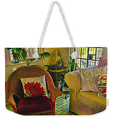 Sunday Chill  Weekender Tote Bag