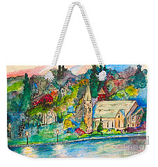 Sunday Evening In Skaneateles Ny Weekender Tote Bag