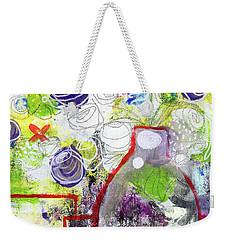 Sunday Market Flowers 3- Art By Linda Woods Weekender Tote Bag