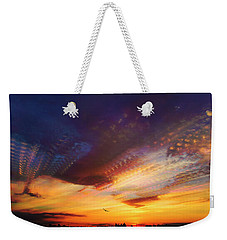 Sunday Morning Coming Down Weekender Tote Bag