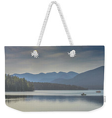 Weekender Tote Bag featuring the photograph Sunday Morning Fishing by Chris Lord