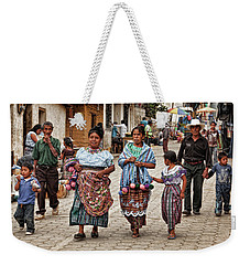 Sunday Morning In Guatemala Weekender Tote Bag