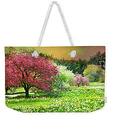 Weekender Tote Bag featuring the photograph Sunday My Day by Diana Angstadt