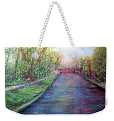Sunday On The Towpath Weekender Tote Bag