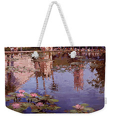 Sunday Reflections - Water Lilies Weekender Tote Bag