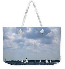 Sunday Regatta Weekender Tote Bag