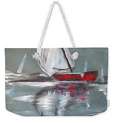 Sunday Sail Weekender Tote Bag
