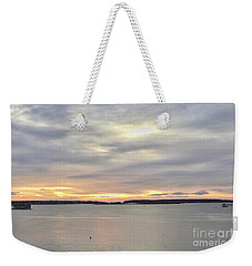 Sunday Soliloquy  Weekender Tote Bag by Patricia E Sundik