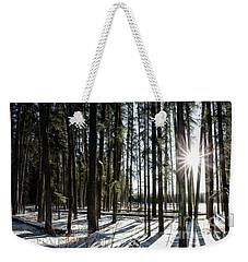 Sundial Forest Weekender Tote Bag by Brad Allen Fine Art