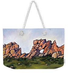 Sundown At The Backbone Weekender Tote Bag