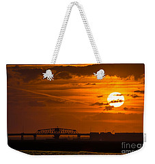 Sundown On The Charleston Coast  Weekender Tote Bag