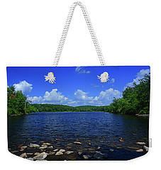 Weekender Tote Bag featuring the photograph Sunfish Pond by Raymond Salani III