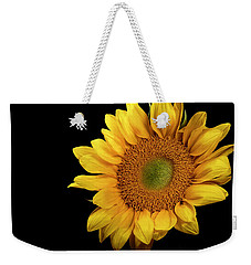 Weekender Tote Bag featuring the photograph Sunflower 2 by James Sage