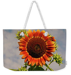 Sunflower 2016 2 Of 5 Weekender Tote Bag by Tina M Wenger