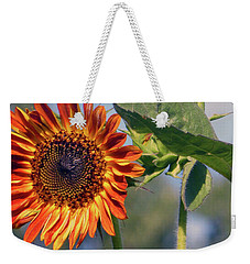 Sunflower 2016 3 Of 5 Weekender Tote Bag by Tina M Wenger