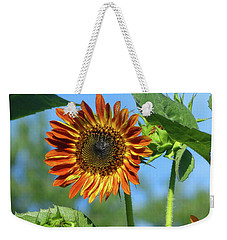 Sunflower 2016 5 Of 5 Weekender Tote Bag by Tina M Wenger