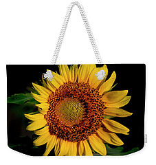 Weekender Tote Bag featuring the photograph Sunflower 2017 12 by Buddy Scott