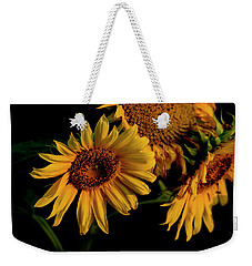 Weekender Tote Bag featuring the photograph Sunflower 2017 7 by Buddy Scott
