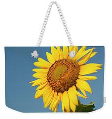 Sunflower And Blue Sky Weekender Tote Bag