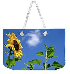 Sunflower And Friend Weekender Tote Bag