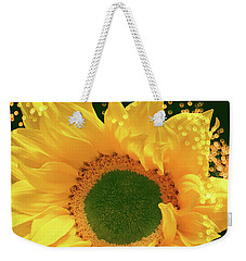 Sunflower Art Weekender Tote Bag