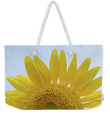 Sunflower Art Top Weekender Tote Bag