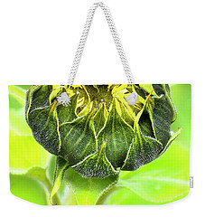 Weekender Tote Bag featuring the photograph Sunflower Beauty 666 by Kevin Chippindall