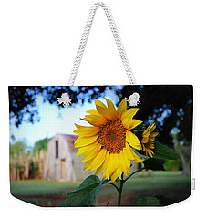 Sunflower Weekender Tote Bag by Beth Vincent