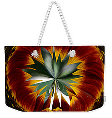 Sunflower Circle Weekender Tote Bag