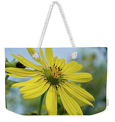 Sunflower Close-up Weekender Tote Bag