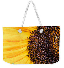 Sunflower Closeup Weekender Tote Bag by Bob Orsillo