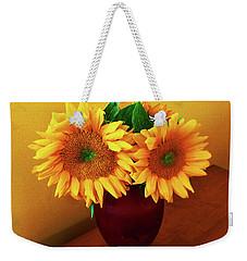 Sunflower Corner Weekender Tote Bag