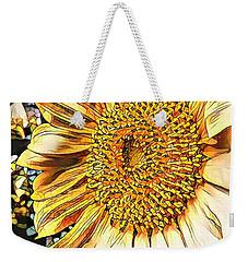 Sunflower In The Alley Weekender Tote Bag