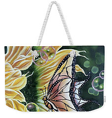 Sunflower Fantasy Weekender Tote Bag by Dianna Lewis