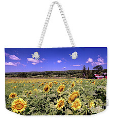 Sunflower Farm Weekender Tote Bag
