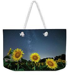 Sunflower Galaxy V Weekender Tote Bag
