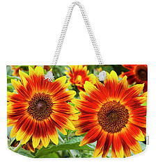 Sunflower Garden Weekender Tote Bag