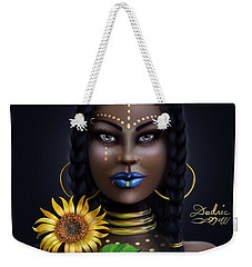 Sunflower Goddess  Weekender Tote Bag