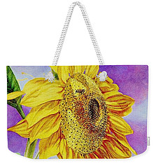 Sunflower Gold Weekender Tote Bag