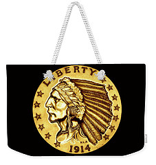 Sunflower Gold Quarter Eagle Weekender Tote Bag