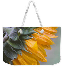 Sunflower Haze Weekender Tote Bag by Arlene Carmel
