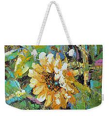 Sunflower I Weekender Tote Bag