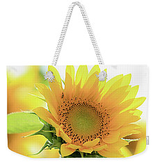 Sunflower In Golden Glow Weekender Tote Bag