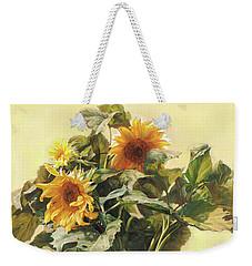 Sunflower In Love - Good Morning America Weekender Tote Bag